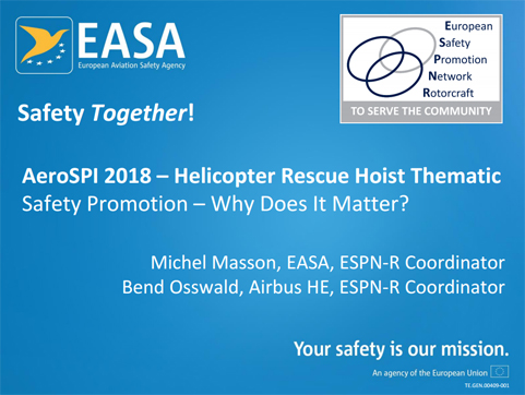 Helicopter Rescue Hoist Thematic - Safety Promotion - Why does it matters