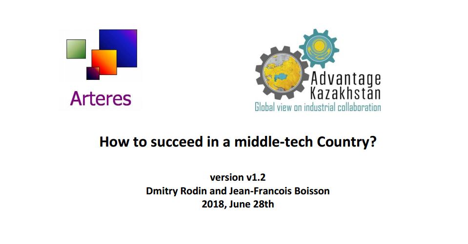 JF BOISSON - How to succeed in a middle-tech country?