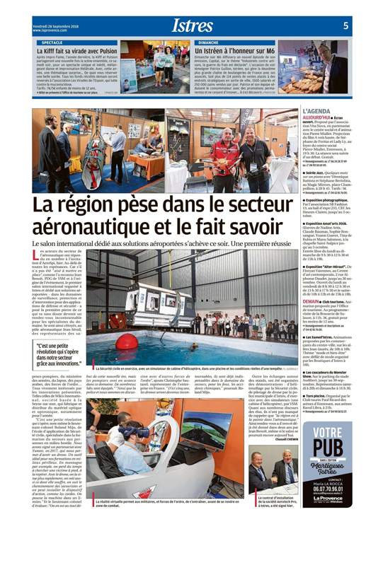 Article Provence 28 sep. 2018